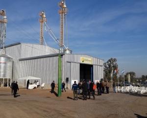 Inauguración planta de balanceados en Coop. Agrícola Ganadera de Sunchales
